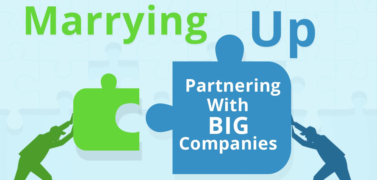 partner with big companies